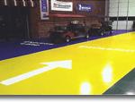 PolyasparticConcrete floor coating