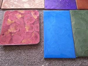 Metallic FX floor coating