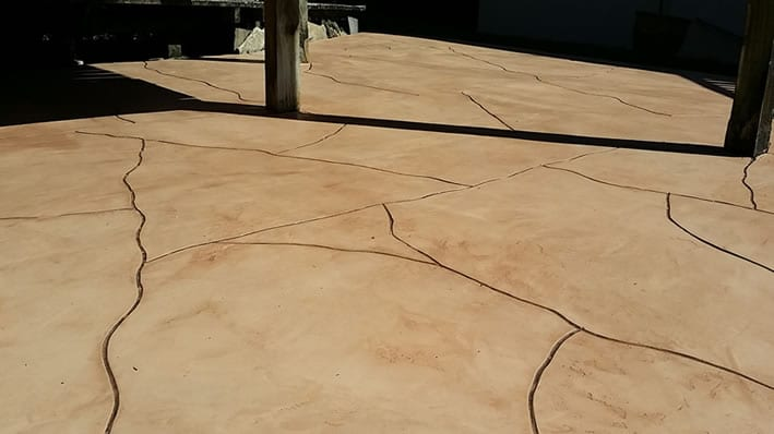 New solution for cracked concrete driveways patio and paths for Floor masters