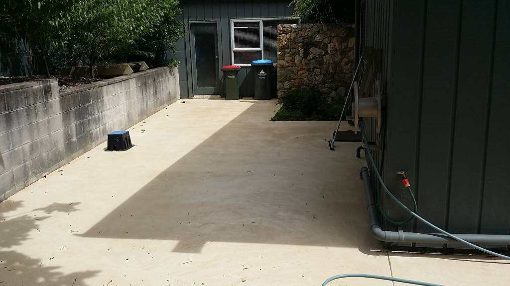 Before During And After Concrete Resurfacing