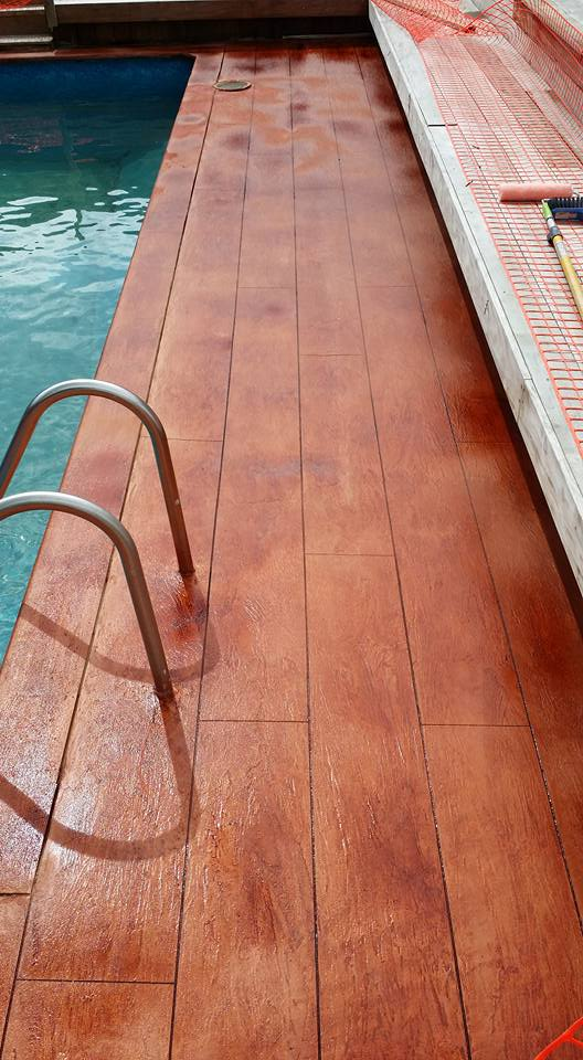 Wood tile woodcrete flooring auckland for Floor masters