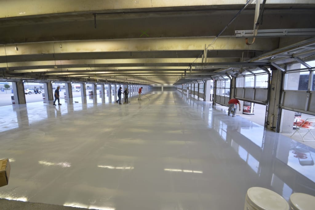 The Ultimate Garage Floor Spartacote Polyaspartic Resin