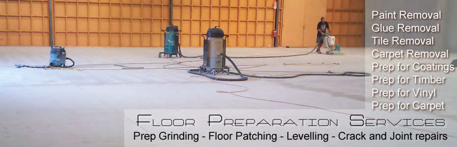 Concrete Floor Preparation